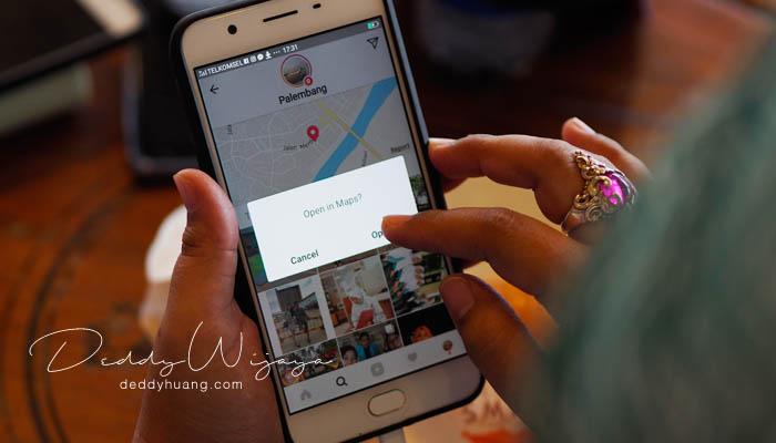 google maps - Liburan Ke Palembang Bermodal Informasi Geospasial