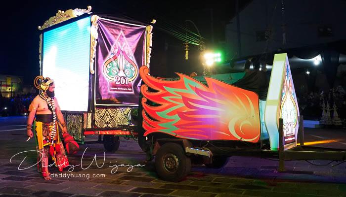 malam hut 261 jogja - Wayang Jogja Night Carnival 2017, Malam Puncak HUT 261 Yogyakarta