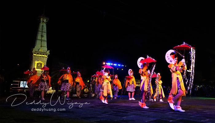parade wayang night jogja carnival - Wayang Jogja Night Carnival 2017, Malam Puncak HUT 261 Yogyakarta