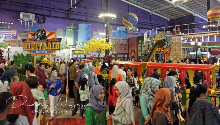trans studio mini palembang - Baru! 2 Tempat Bermain Anak di Palembang
