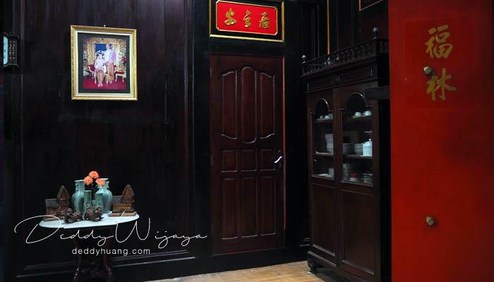 interior dalam rumah - Pasar Baba Boentjit, Warna Baru Wisata Kota Palembang