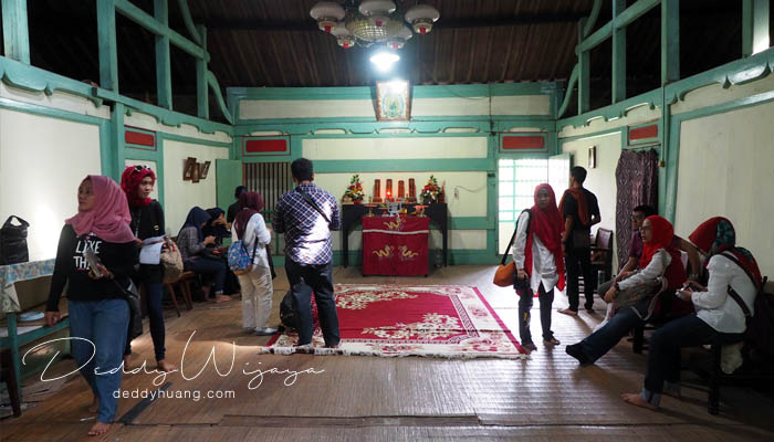 ruang belakang - Pasar Baba Boentjit, Warna Baru Wisata Kota Palembang