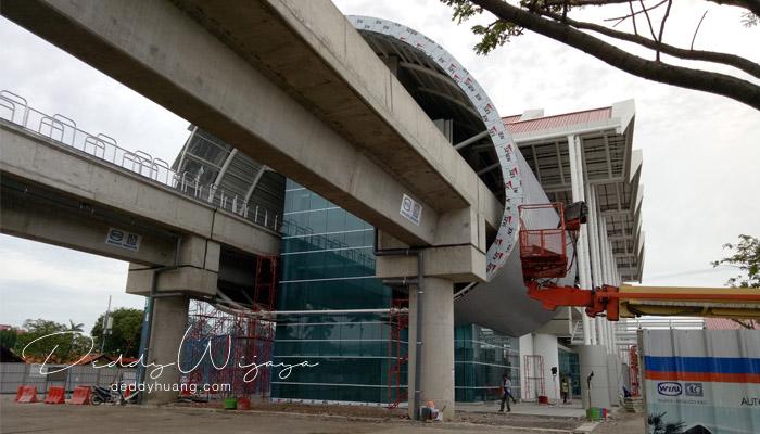 shelter terminal - Penasaran! Inilah Penampakan Skytrain Bandara Soekarno Hatta