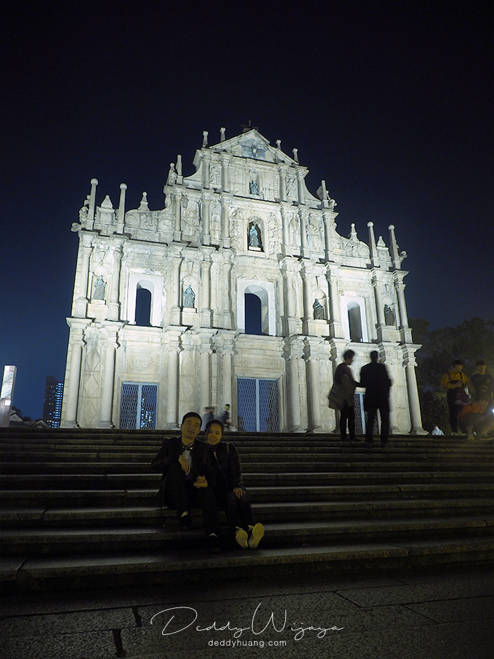 couple 2 - Romantisme Reruntuhan Gereja St. Paul, Macao