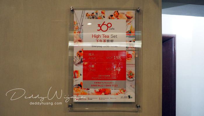 harga tiket high tea - Macao Tower High Tea, Tempat Seru Menikmati Panorama Kota Macao