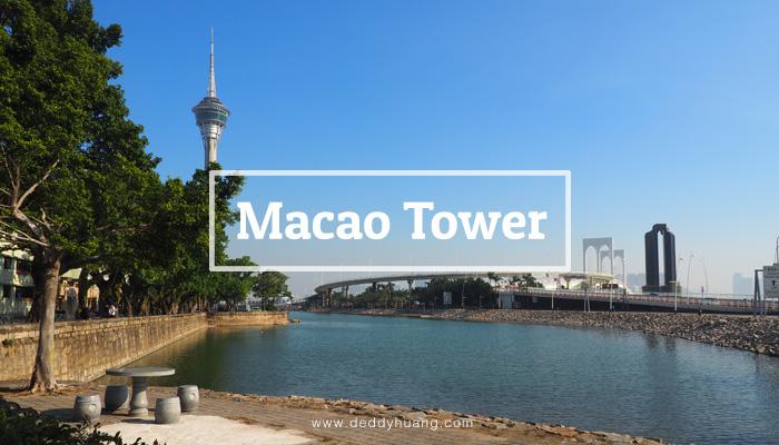macao tower1 - Macao Tower High Tea, Tempat Seru Menikmati Panorama Kota Macao