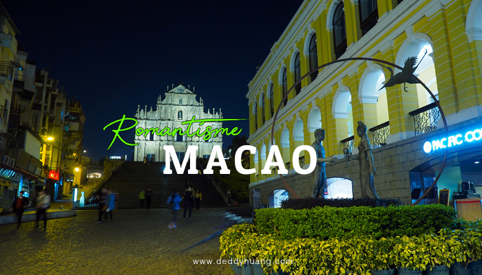 romantisme macao - Labirin Rasa Macao (Xpress Air Inflight Magazine March 2018)