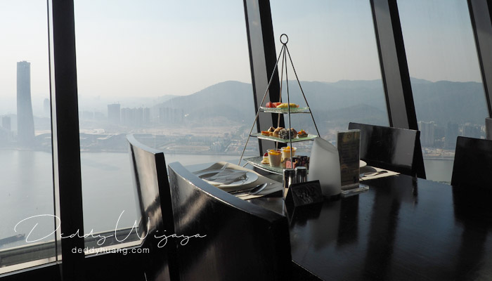 tea set1 - Macao Tower High Tea, Tempat Seru Menikmati Panorama Kota Macao
