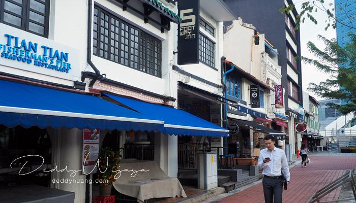 5footwayinn boat quay - 5footway Inn Boat Quay : Hostel Murah Dekat MRT di Singapura
