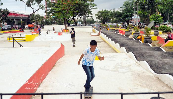ampera skate park - Keliling Palembang Hemat? Ini Referensi Tempat Menarik Dilewati LRT Palembang