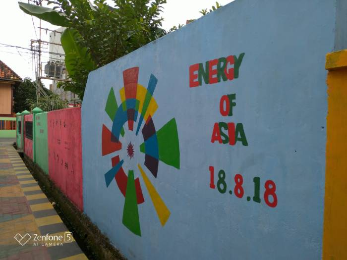 energy of asia - Main Ke Kampung Warna Warni Asian Games Palembang