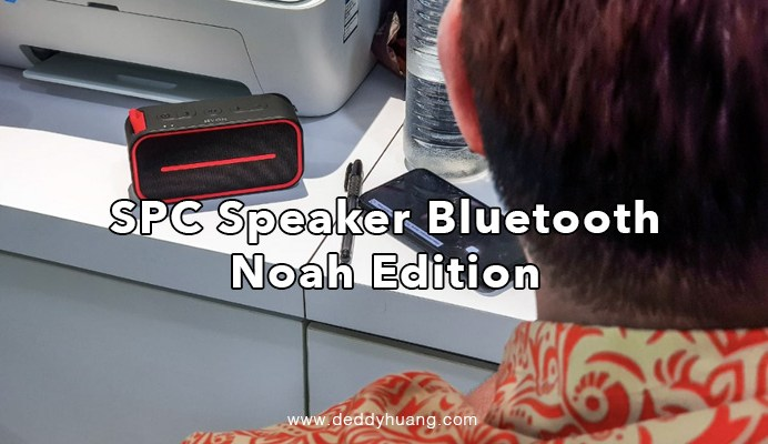 spc speaker bluetooth noah edition