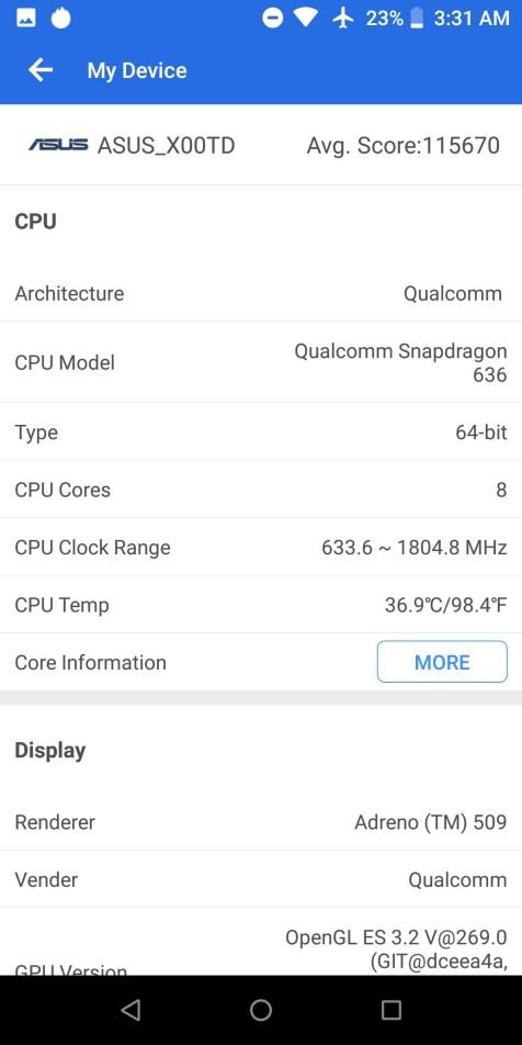 antutu zenfone max pro m1 021 - Kini Eranya Smartphone Gaming ZenFone Max Pro M1