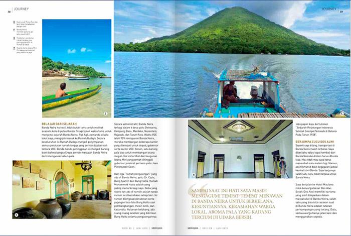 sriwijaya magazine banda neira 02 - Penggalan Kisah Banda Neira untuk Dunia