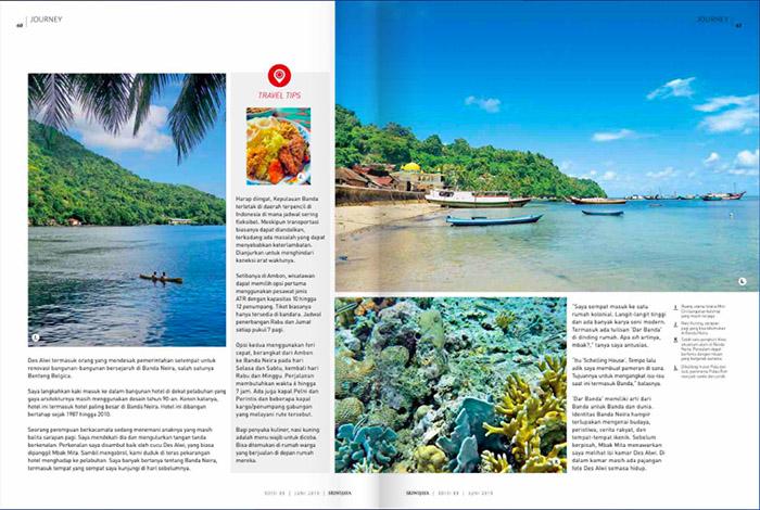 sriwijaya magazine banda neira 03 - Penggalan Kisah Banda Neira untuk Dunia