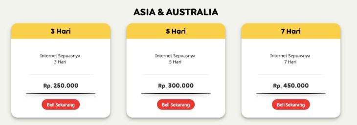 paket data roaming internasional indosat