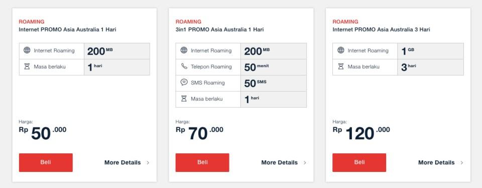 tarif data roaming telkomsel 1 - Agar Melancong ke Luar Negeri Tetap Lancar Internet