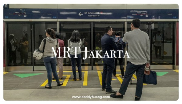 Pertama Kali Naik MRT Jakarta? Ini Tips Agar Kamu Tidak Jadi Viral