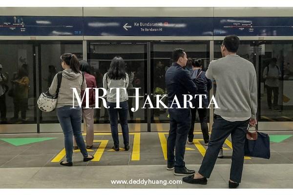 Pengalaman Naik MRT Jakarta
