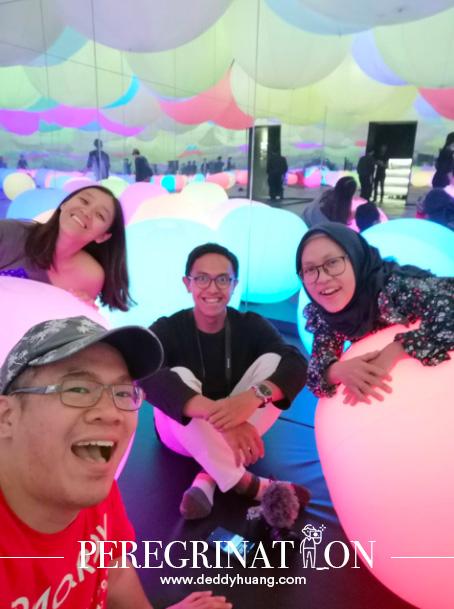 travel blogger indonesia - Main ke Gandaria City Mal Buat Lihat Pameran Instalasi Seni Digital TeamLab Future Park