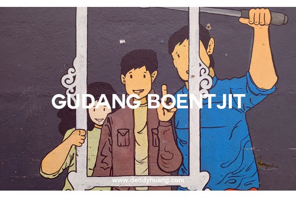 Gudang Boentjit, Spot Foto Instagramable di Palembang