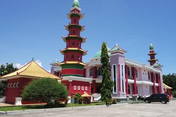 Masjid Cheng Ho Nuansa Cina Palembang