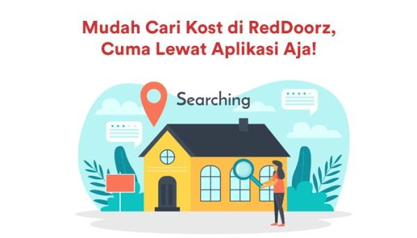 Mudah Cari Kost di RedDoorz, Cuma Lewat Aplikasi Aja!