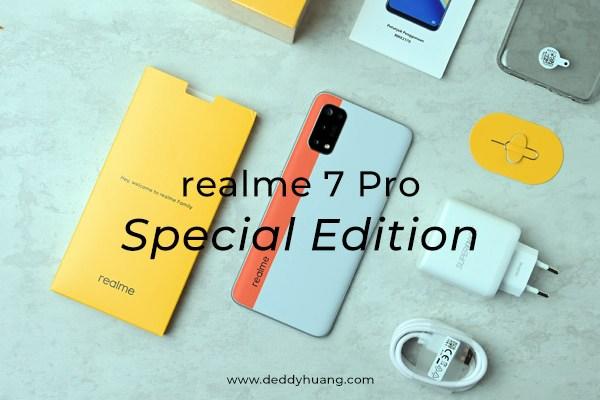 [REVIEW] realme 7 Pro Special Edition Warna Baru Harga 4 Jutaan