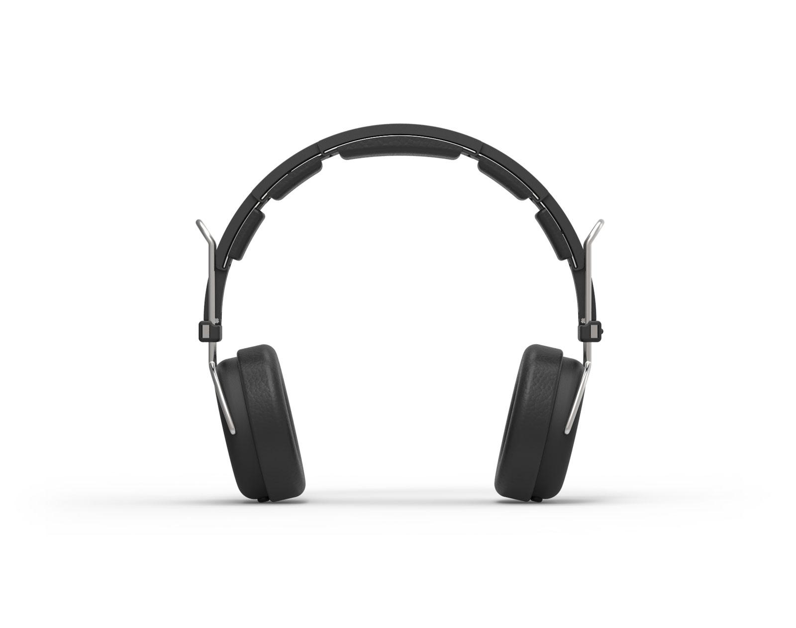 designer headphones front
