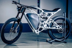 Generative design of motorcycle
