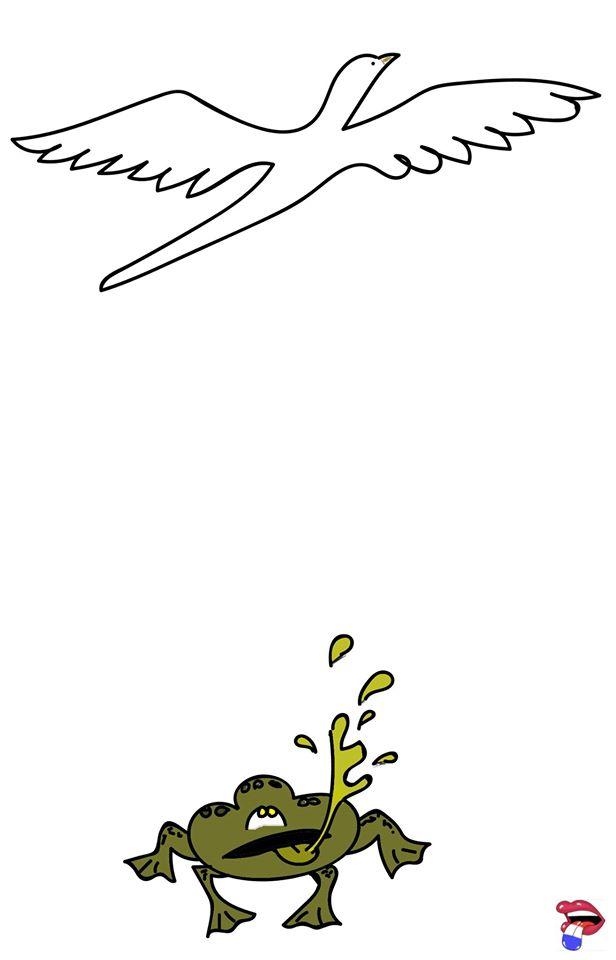 La Bave Du Crapaud N'atteint Pas La Blanche Colombe : crapaud, n'atteint, blanche, colombe, Crapaud, N'atteint, Blanche, Colombe, Dédexpressions