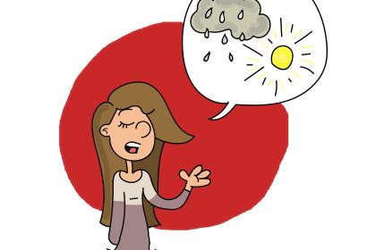 parler de la pluie et du beau temps