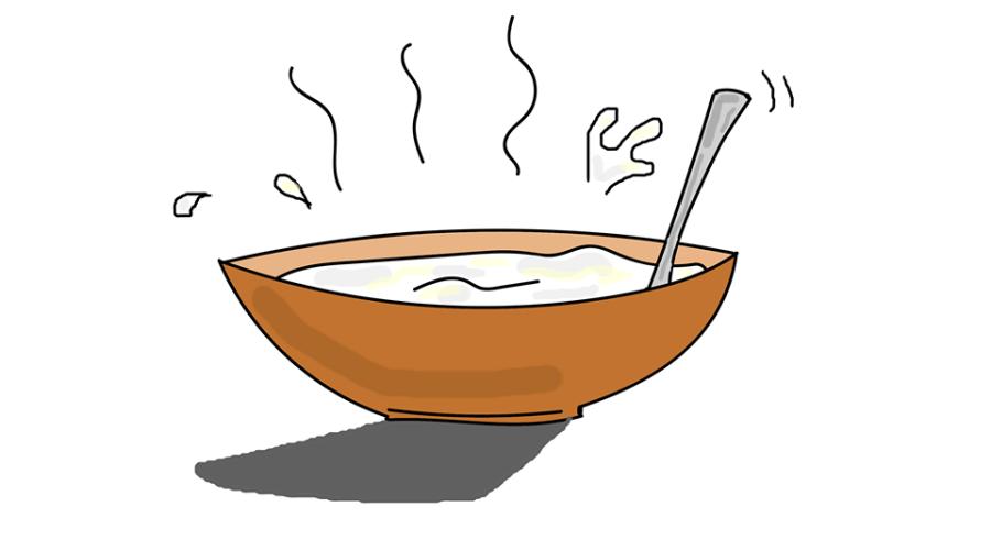 Etre soupe au lait