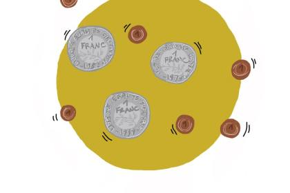 Troix francs six sous