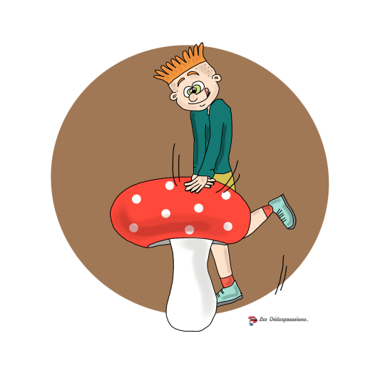 appuyer sur le champignon - Les Dédexpressions