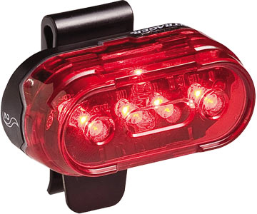 """basic blinky rear bike light"""