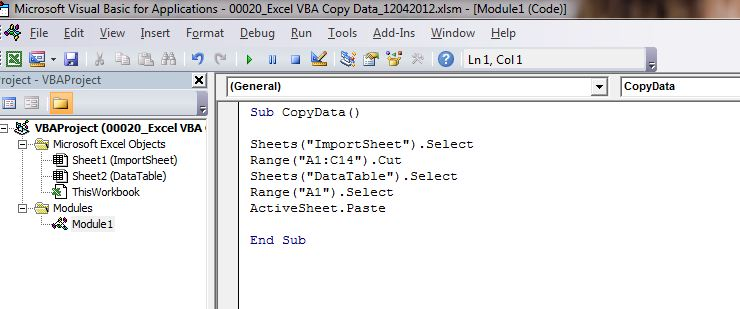 How To Copy Data To Another Worksheet With Excel Vba  Dedicated Excel