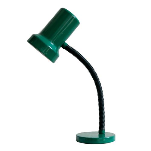 groene vintage bureaulamp