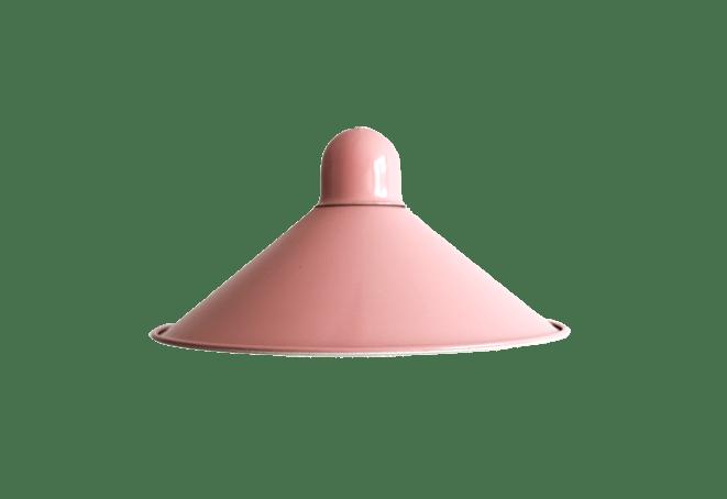 Roze vintage hanglamp