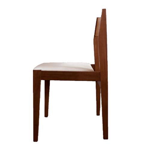 houten design stoel
