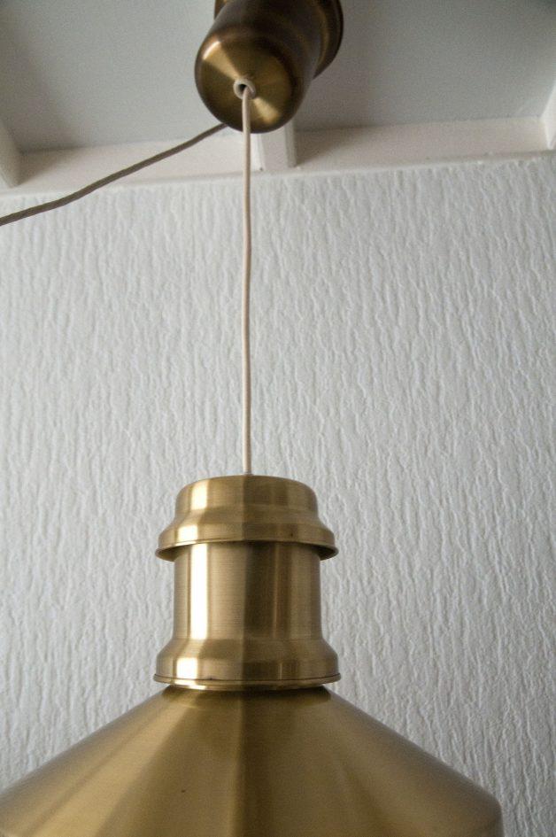 skibslampe gouden hanglamp