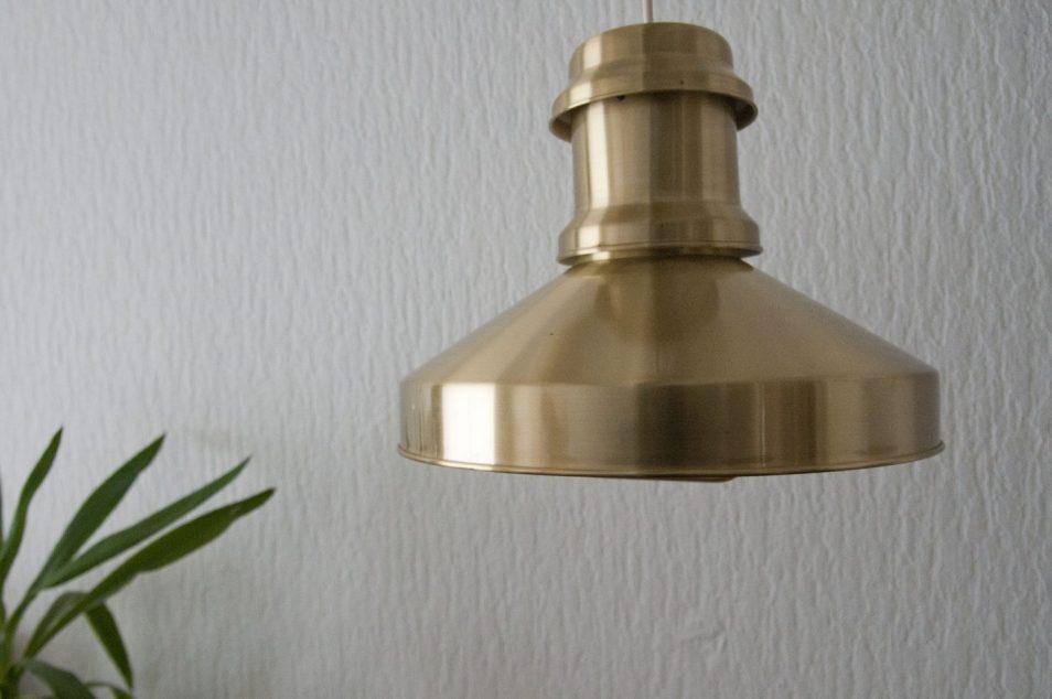 messing gouden hanglamp deens design scheepslamp skibslampe