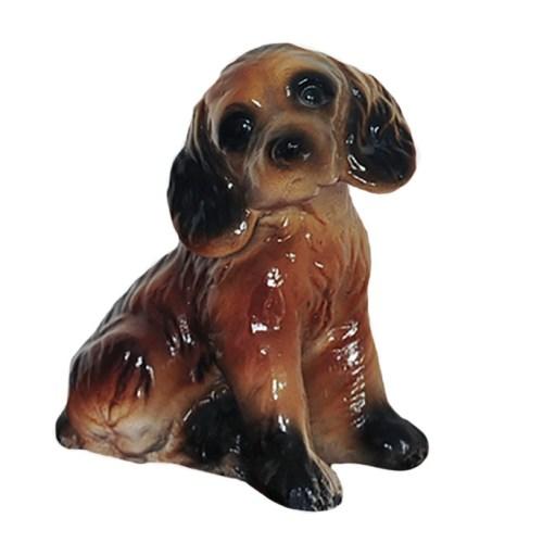 honden beeldje keramiek