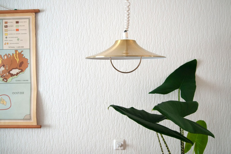 Gouden trek hanglamp