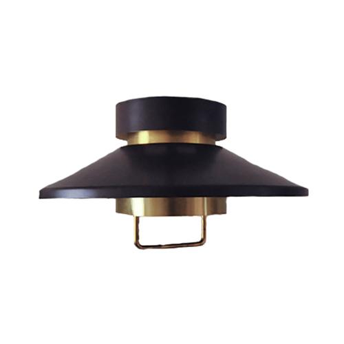 bruin gouden deense hanglamp