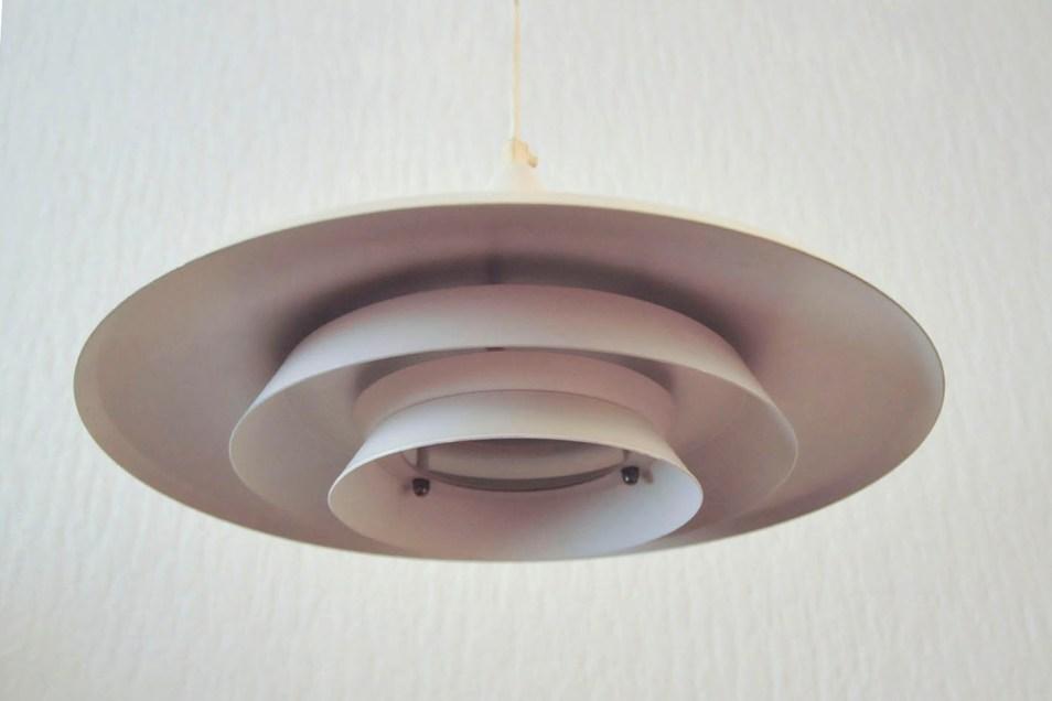 Deense witte hanglamp
