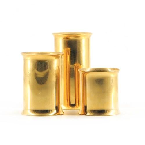 set gouden staafjes waxinelichthouders