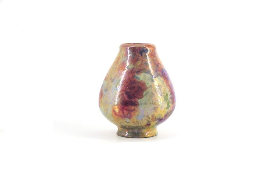 parelmoer vintage vaas