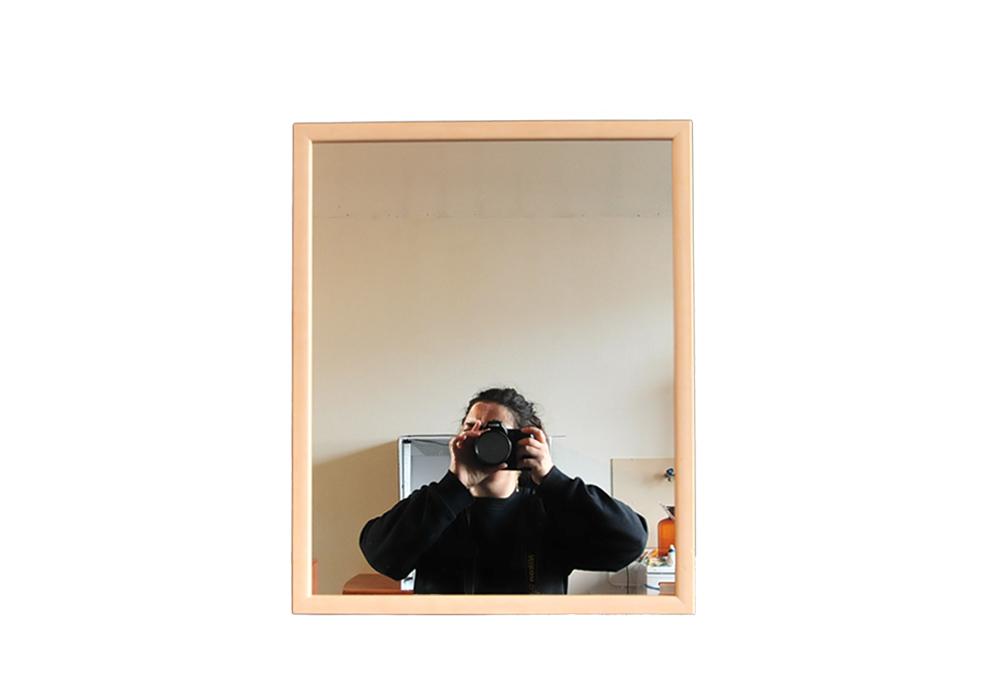 rechthoekige nude spiegel