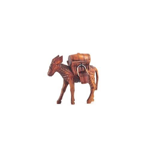 beeld houten ezel